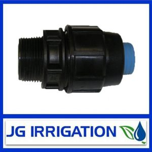 Rural B Poly Pipe Fitting MI Adaptor Thread